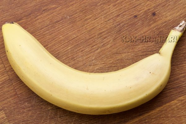 Как портится банан - день 1
