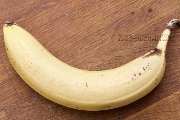 Как портится банан - день 4
