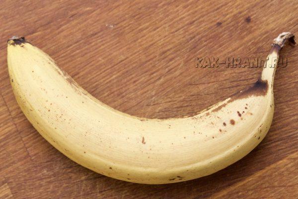 Как портится банан - день 5