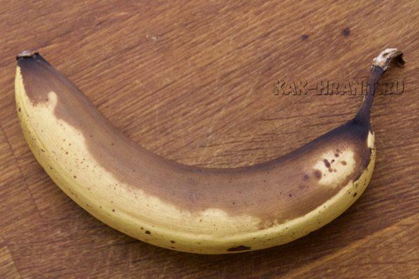 Как портится банан - день 7