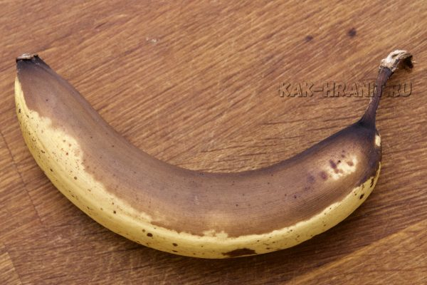 Как портится банан - день 8
