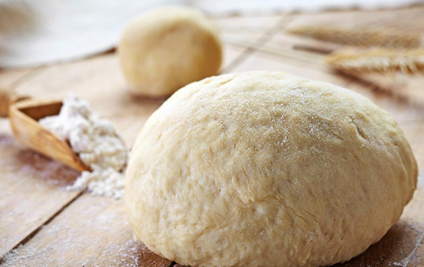 Как сделать тесто на пироги с сухими дрожжами на кефире